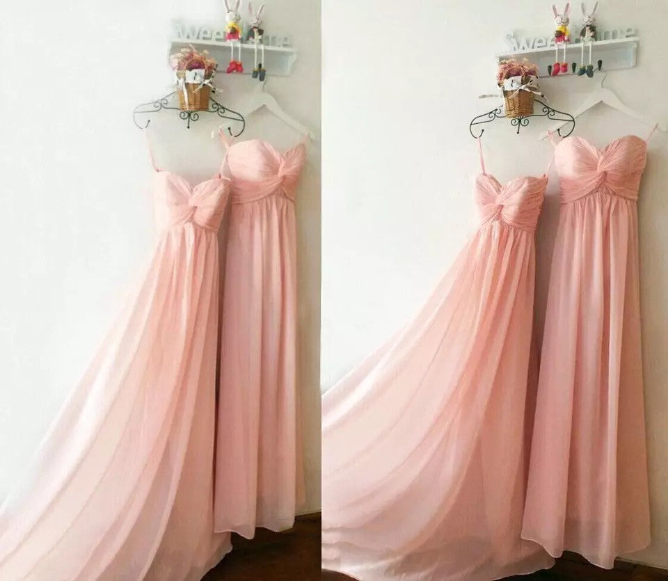 Stunning Pink Bridesmaid Dress - The Wedding LookBook