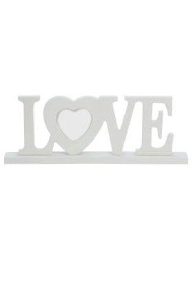 Gisela Graham 'Love' Wooden Picture Frame