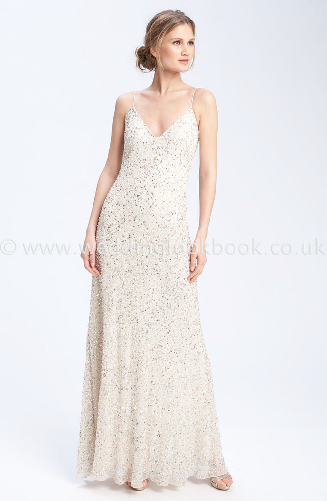 Stunning Empire Gown with This Straps - The Wedding LookBook