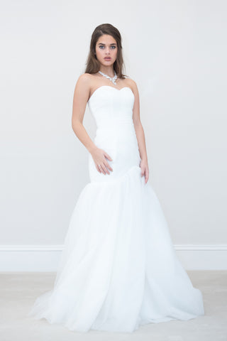 Mermaid Sweetheart Neckline Natural Waistline Wedding Dress