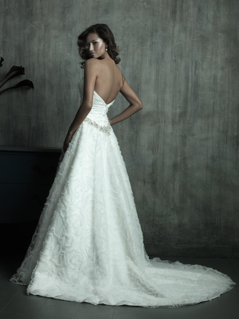Stunning Aline bridal gown - The Wedding LookBook