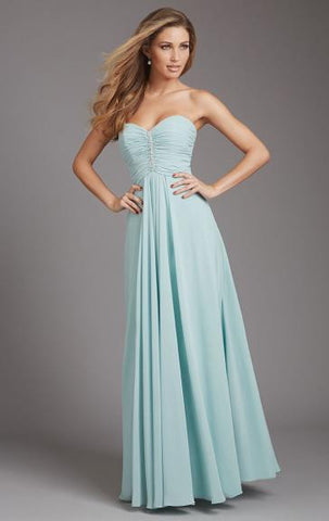 Amazing Light Blue A-Line Bridesmaid Dress