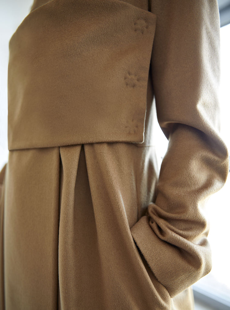 Juno The Chase Han cashmere coat