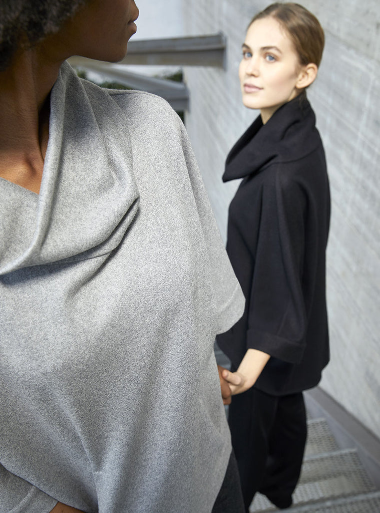 Juno The Chase Ease cashmere cape
