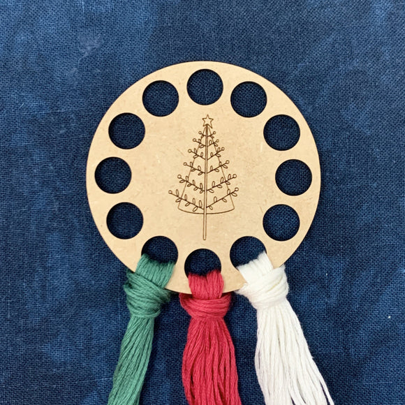 Winter Wonderland Tree Thread Keep / Thread Organizer