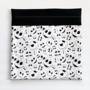 Jack Skellington Fabric Project Bag - Large