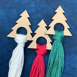 Christmas Tree Thread Drops - Set of 5