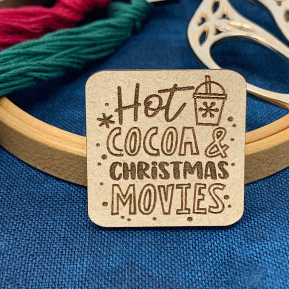 Hot Cocoa & Christmas Movies - Needle Minder