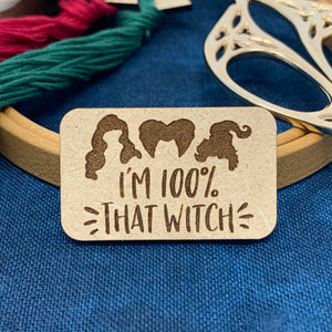 100% That Witch - Needle Minder
