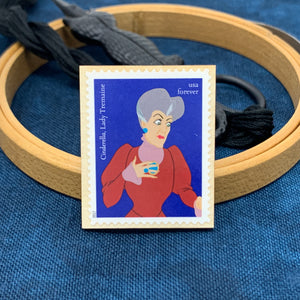 Lady Tremaine Cinderella Disney Villain Needle Minder