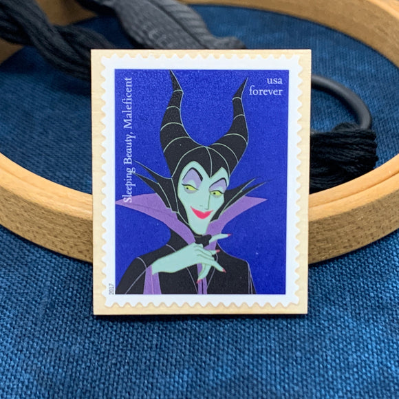 Maleficent Disney Villain Stamp Needle Minder