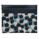 Belinda's Big Kitty Project Bag - Blue (Alexander Henry)