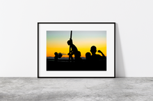 Load image into Gallery viewer, Sunset silhouettes
