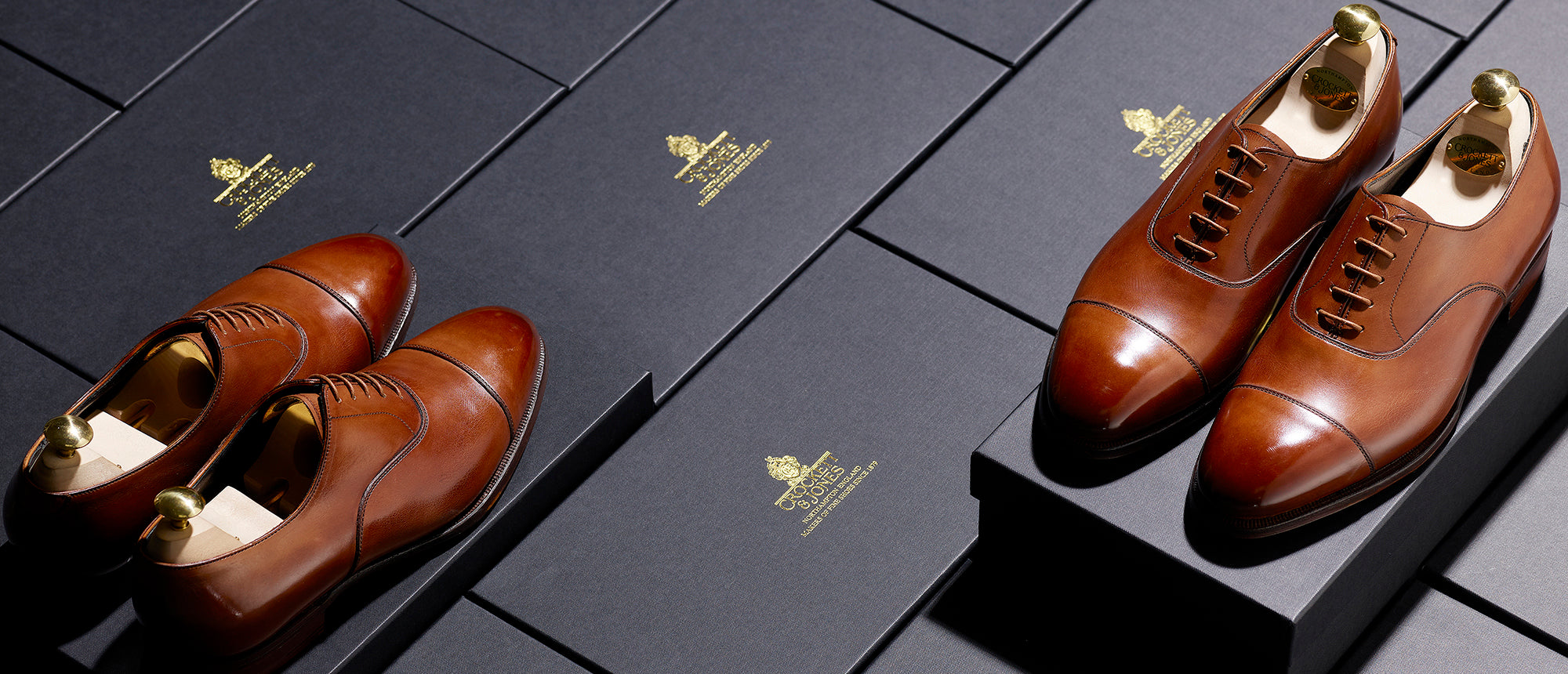 Crockett & Jones - Anniversary Collection Details... Connaught