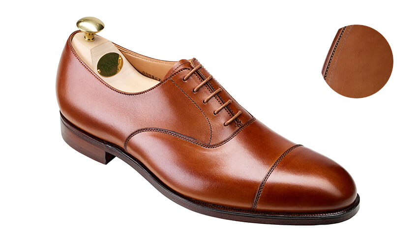 Dorset 2 Tan Burnished Calf | Crockett & Jones