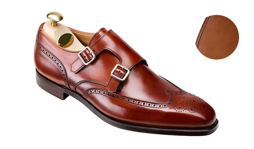 Gower 2 Chestnut Burnished Calf | Crockett & Jones