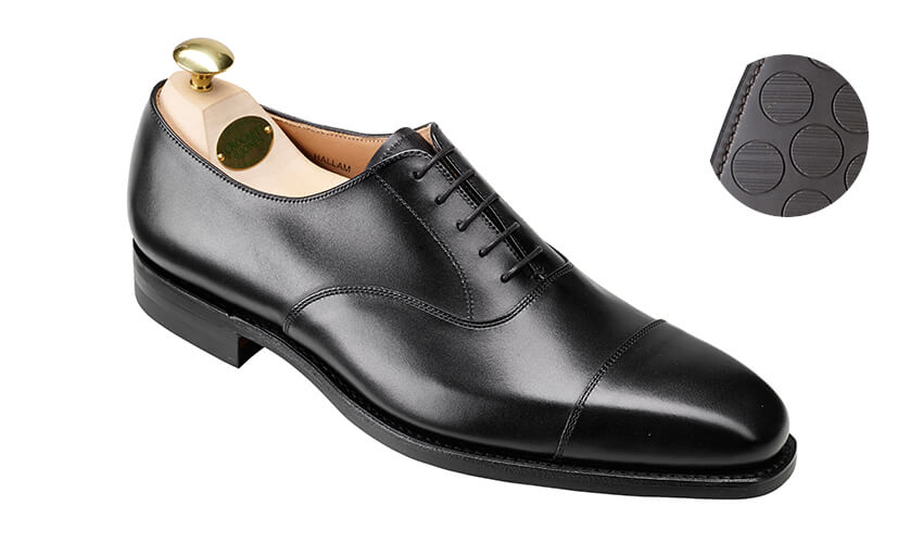 Hallam Black Calf | Crockett & Jones