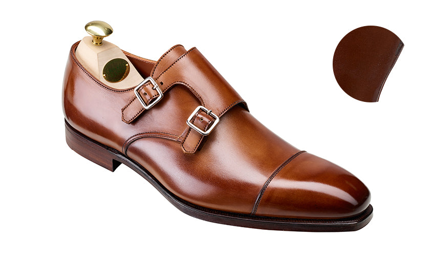 Montpellier 2 Tan Antique Calf | Crockett & Jones