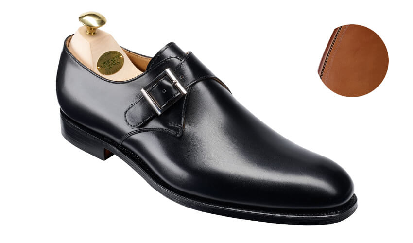 Swindon Black Calf | Crockett & Jones