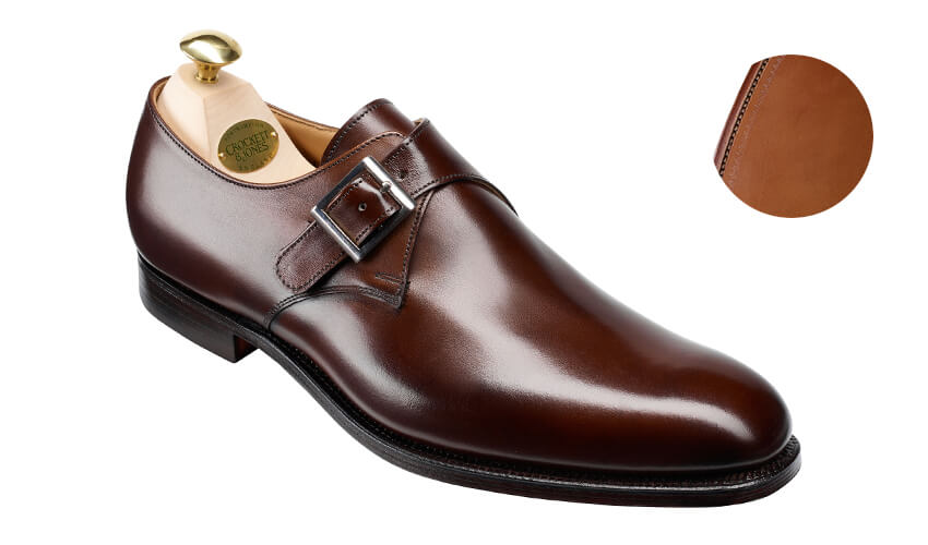 Swindon Dark Brown Calf | Crockett & Jones