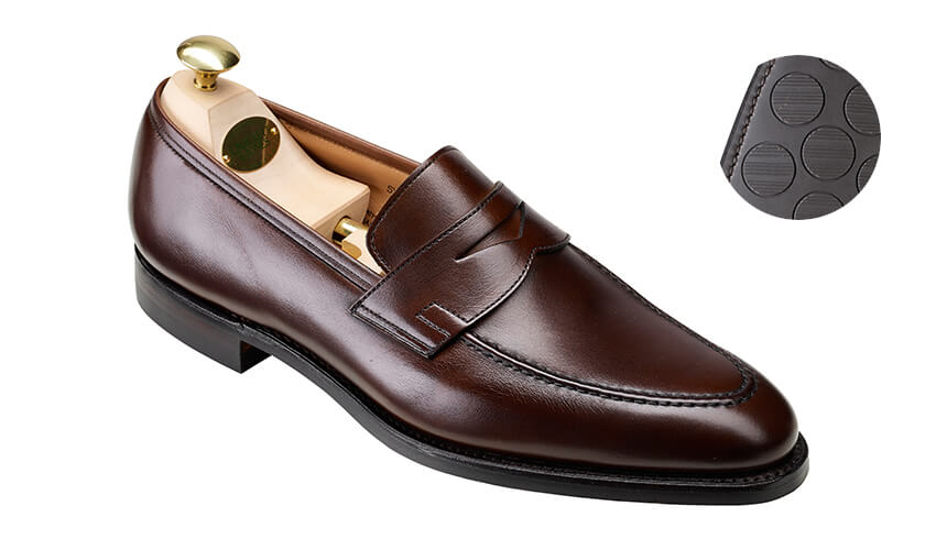 Sydney Dark Brown Calf | Crockett & Jones