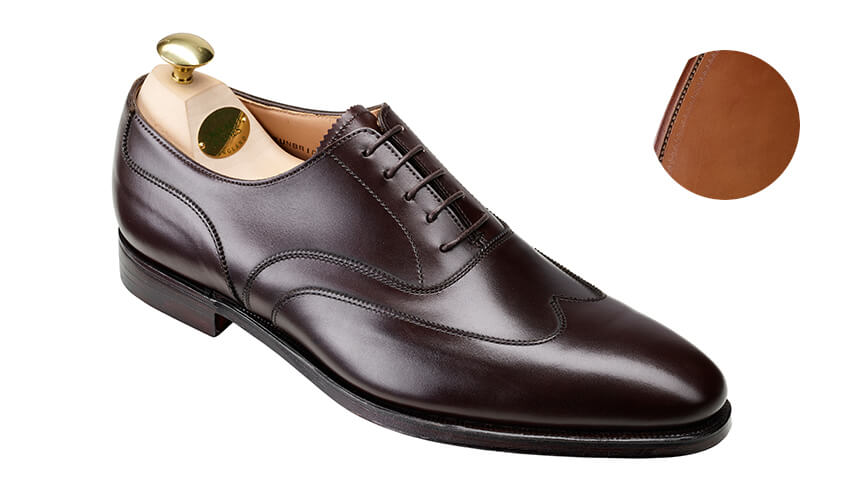 Tunbridge Coffee Burnished Calf | Crockett & Jones