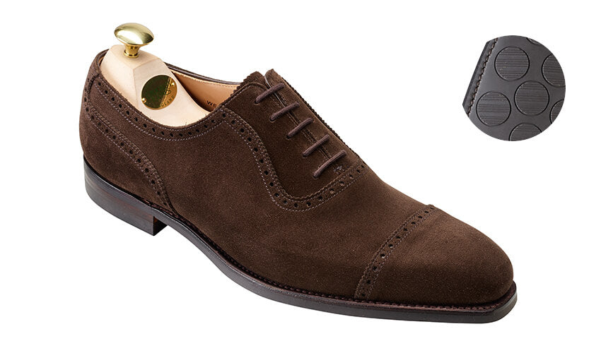 Westbourne Dark Brown Suede | Crockett & Jones