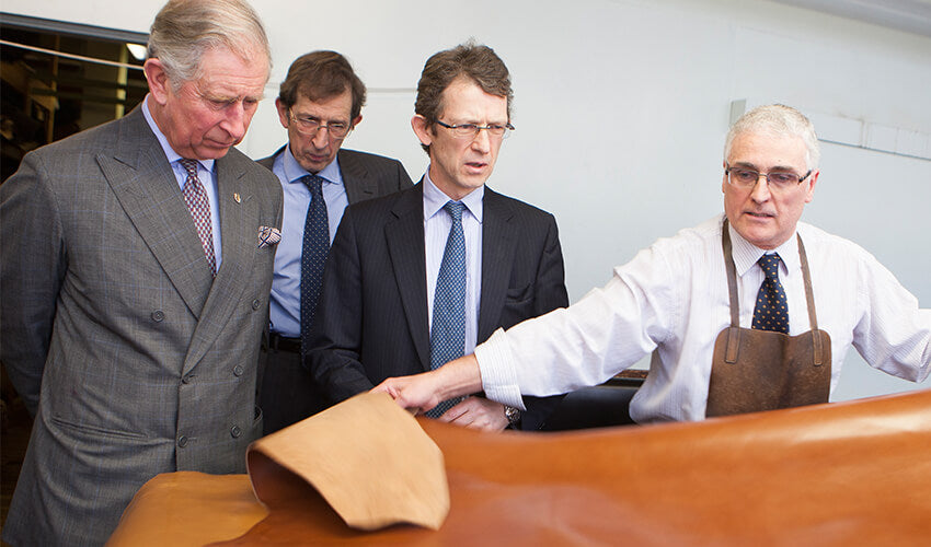 HRH-The-Prince-of-Wales-visits-Crockett-and-Jones-Factory-2