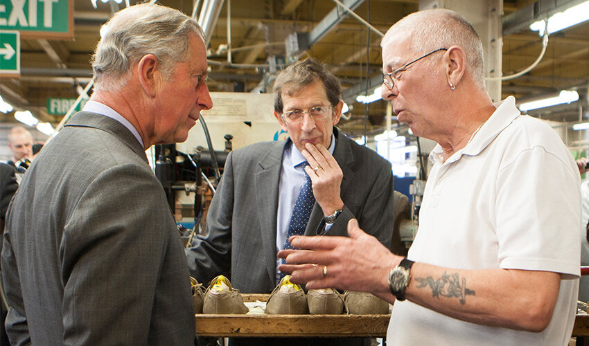 HRH-The-Prince-of-Wales-visits-Crockett-and-Jones-Factory-4