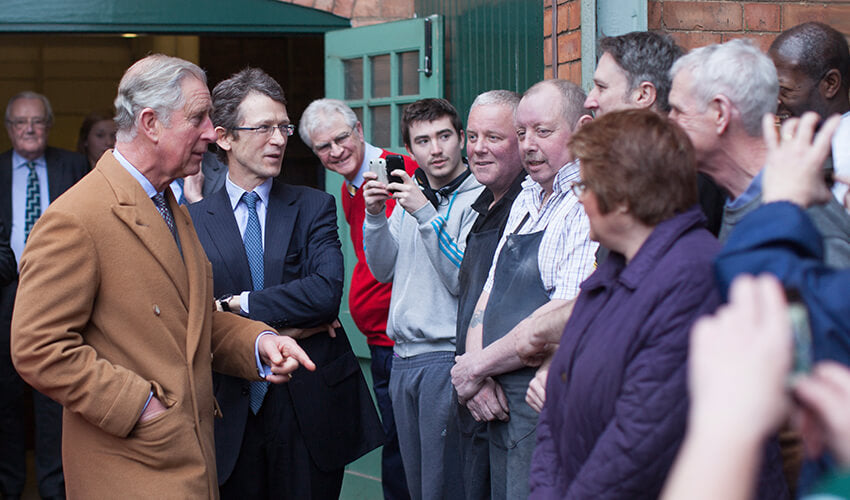 HRH-The-Prince-of-Wales-visits-Crockett-and-Jones-Factory-5
