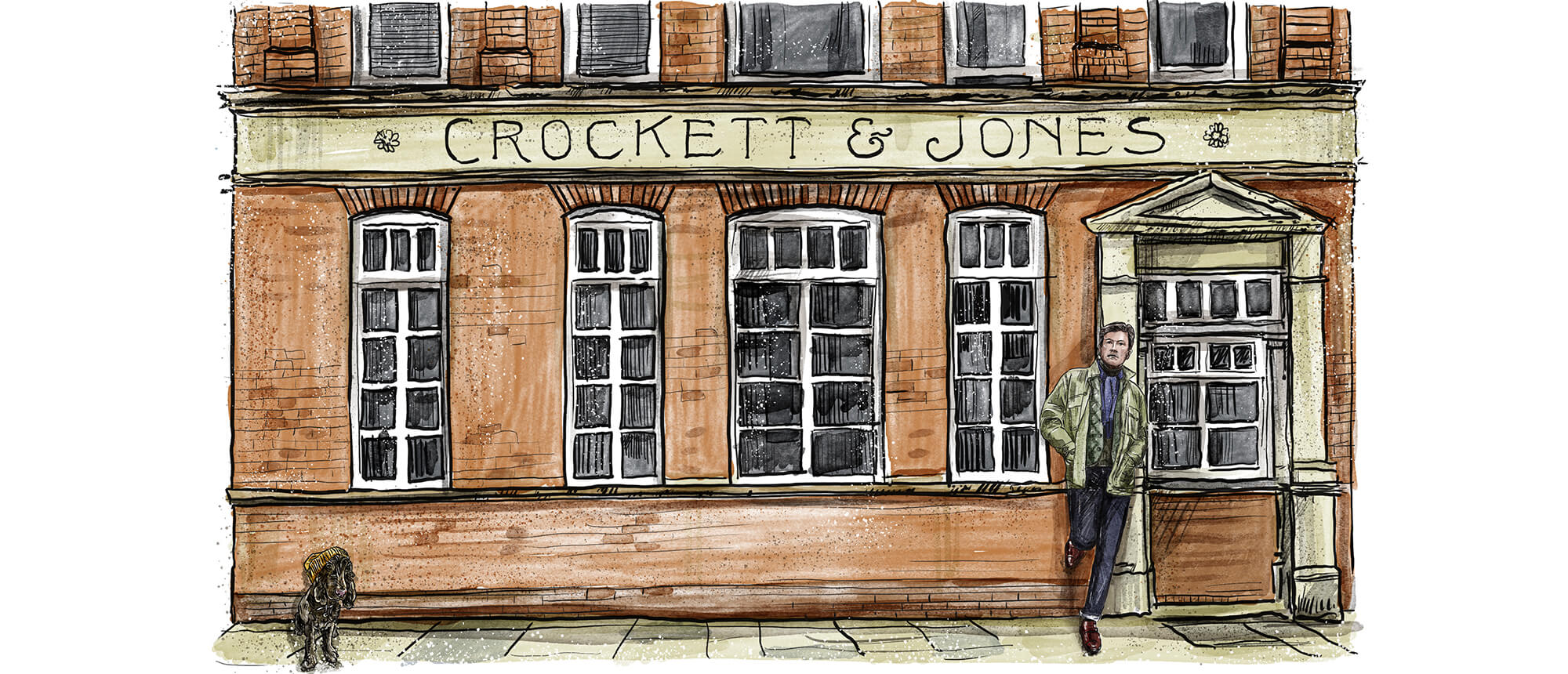 Crockett & Jones - Made in Northampton, England.