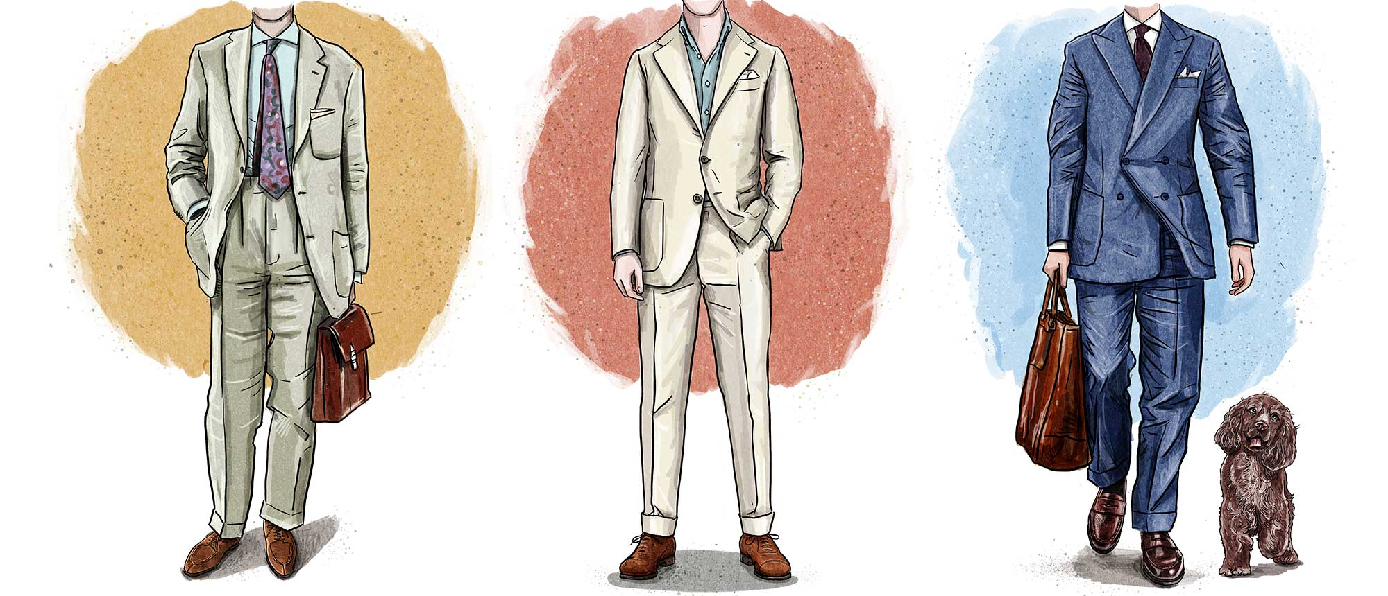 Crockett & Jones - How to Style Summer Suits with Shoes