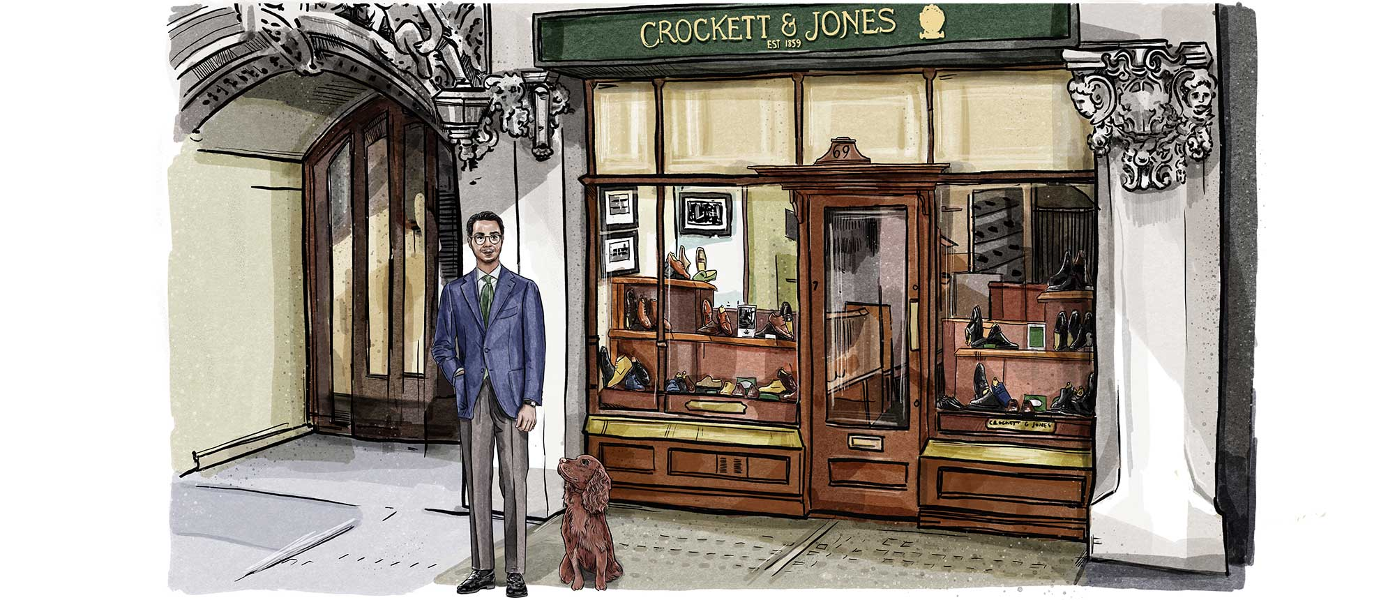 Crockett & Jones - A Day in the life of a C&J Retail Manager...