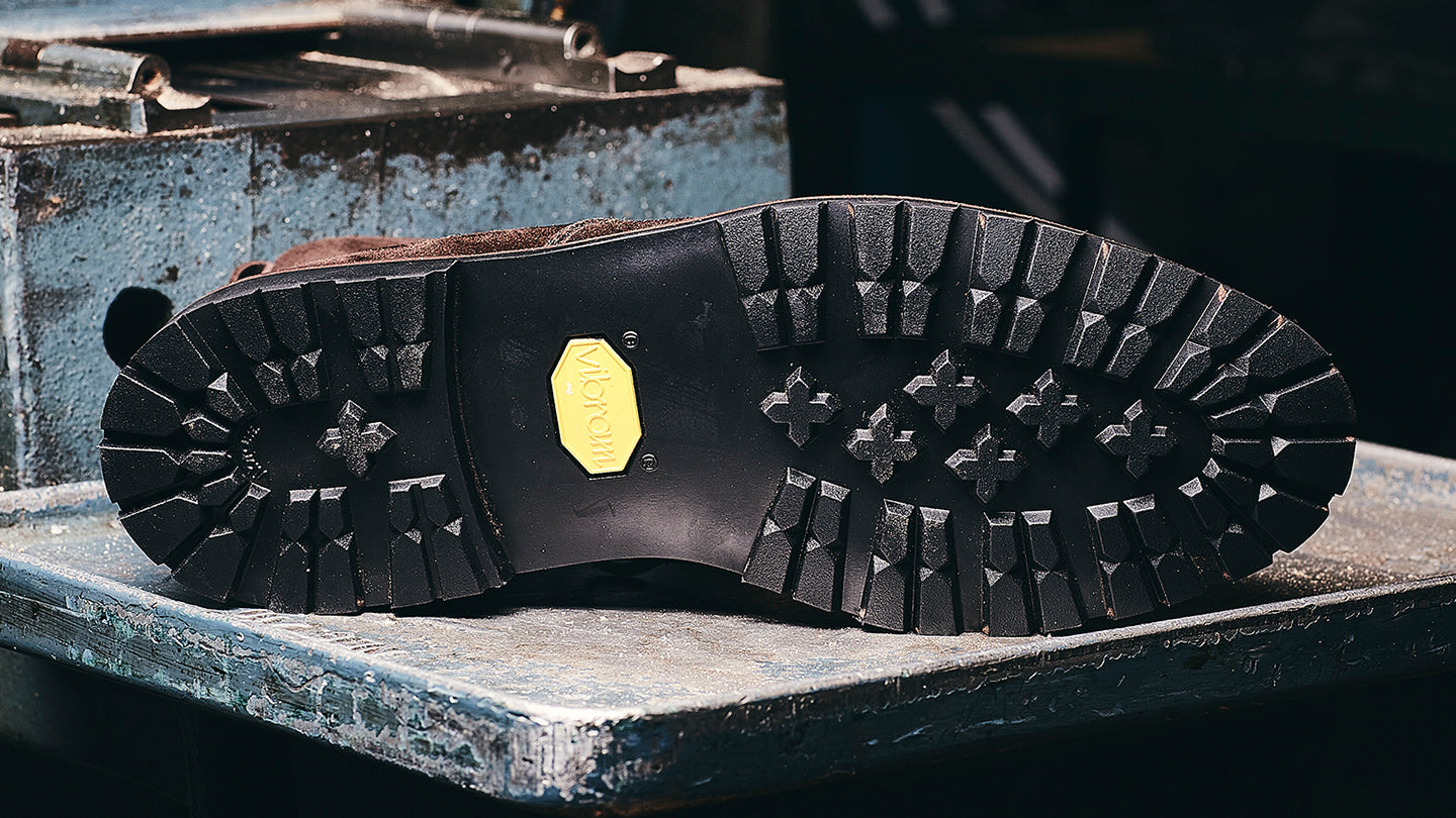 Vibram Cleated Rubber Sole