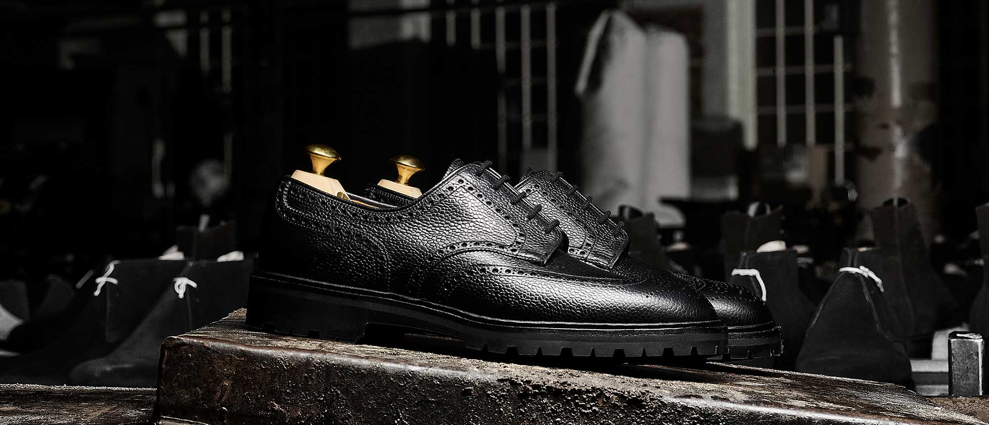 Crockett & Jones - The Black Editions 2 Details... Pembroke