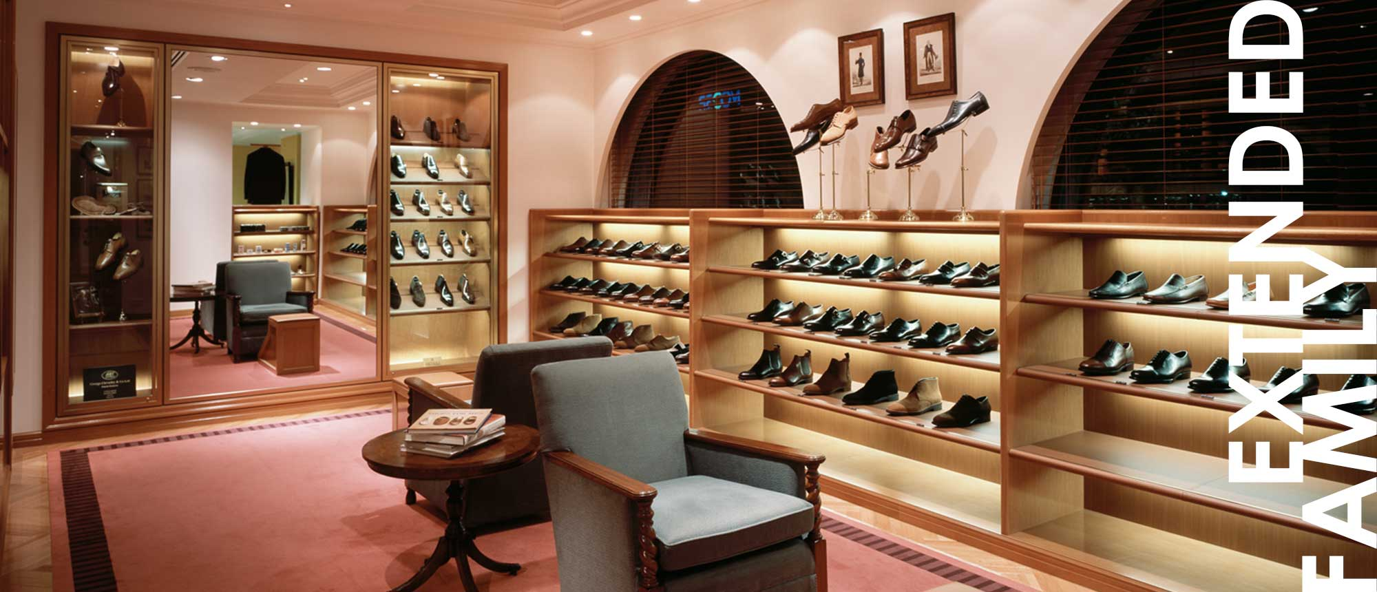 Crockett & Jones - Extended Family. Beams, Tokyo, Japan.
