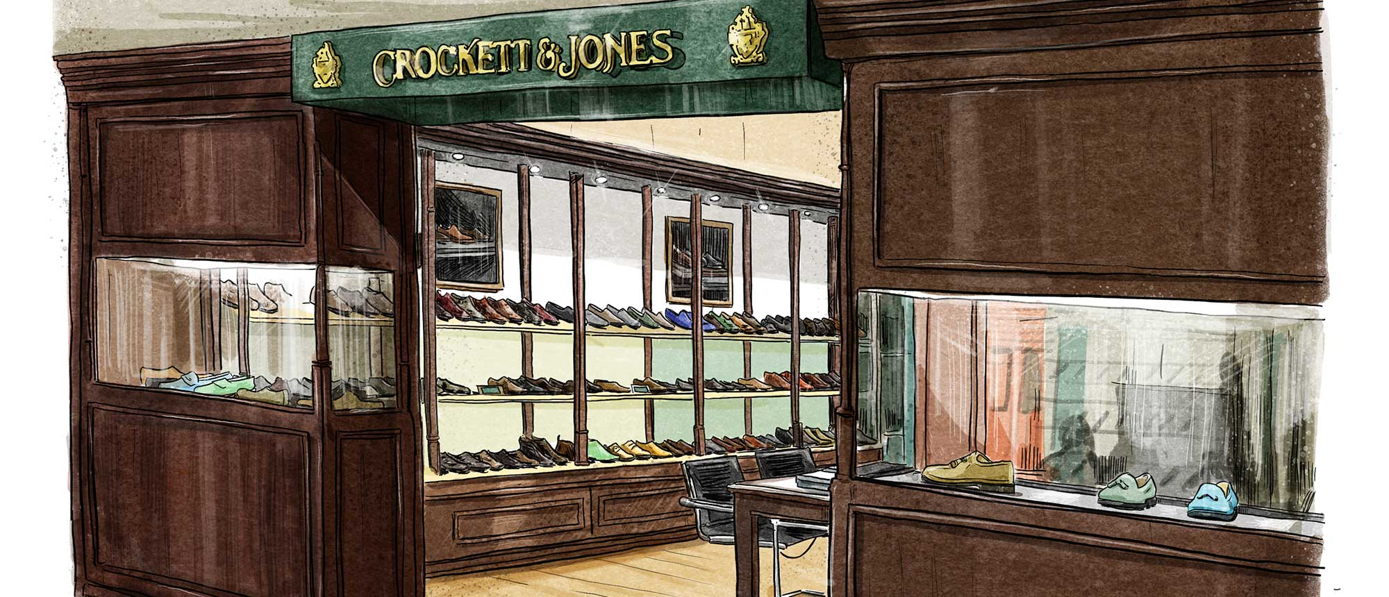 Crockett & Jones - Pitti UOMO 97
