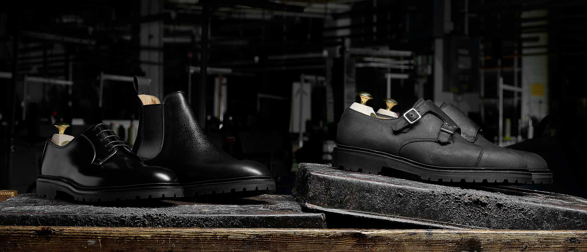 Crockett & Jones - The Black Editions Details... Tay 2