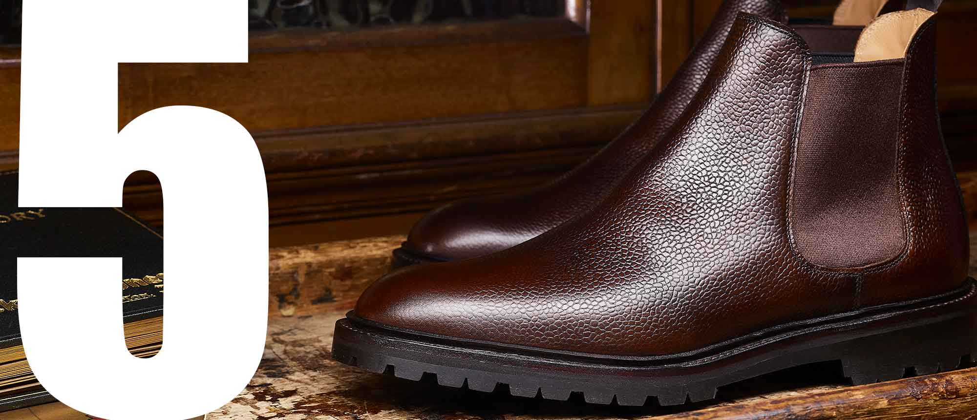 Crockett & Jones - Top 5 Men's Grain Styles