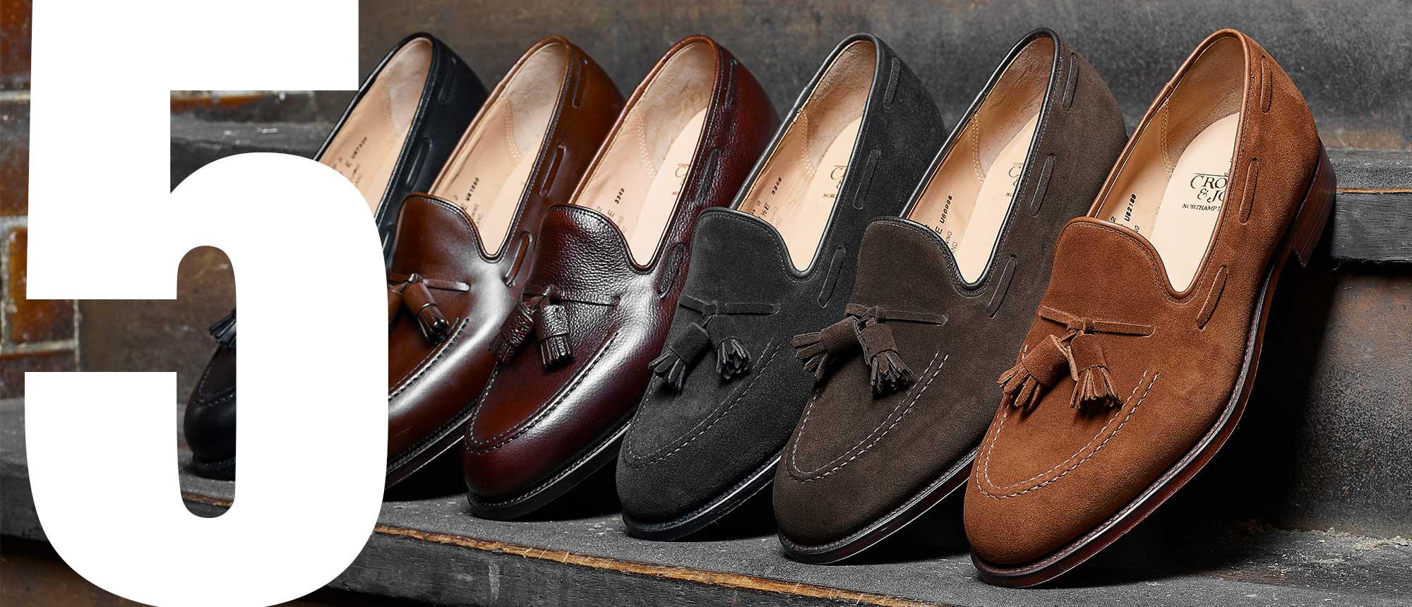 Crockett & Jones - Top 5 Men's Loafers