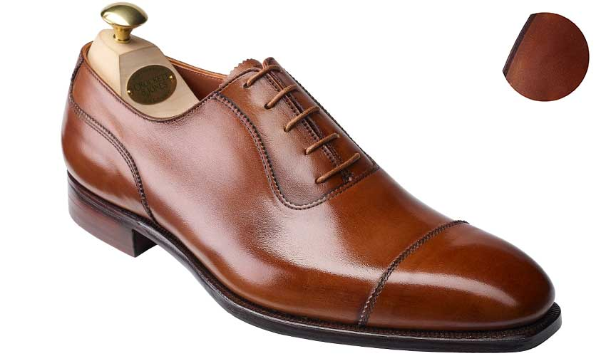 Egerton | Tan Antique Calf | Crockett & Jones
