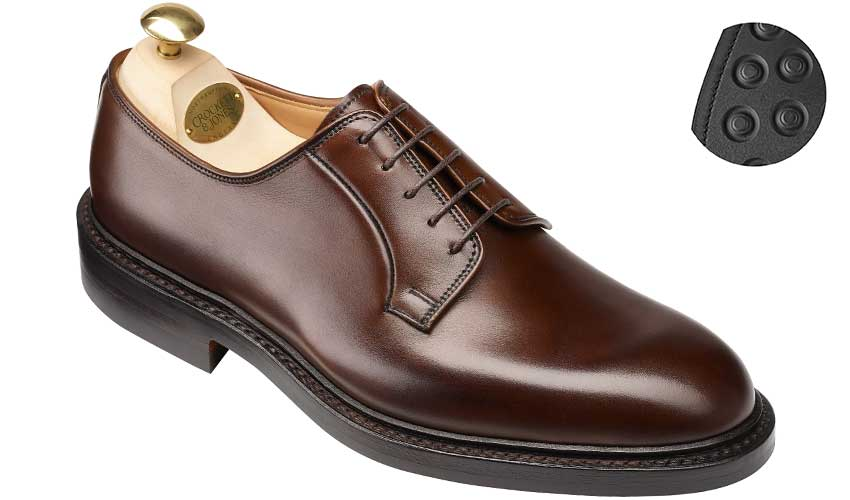 Lanark 3 | Dark Brown Burnished Calf | Crockett & Jones