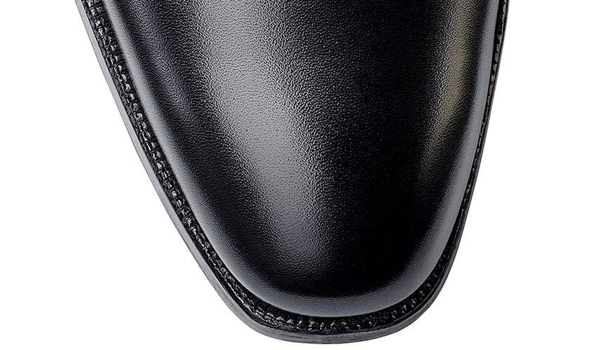 Kempton 3 Black Calf | Crockett & Jones