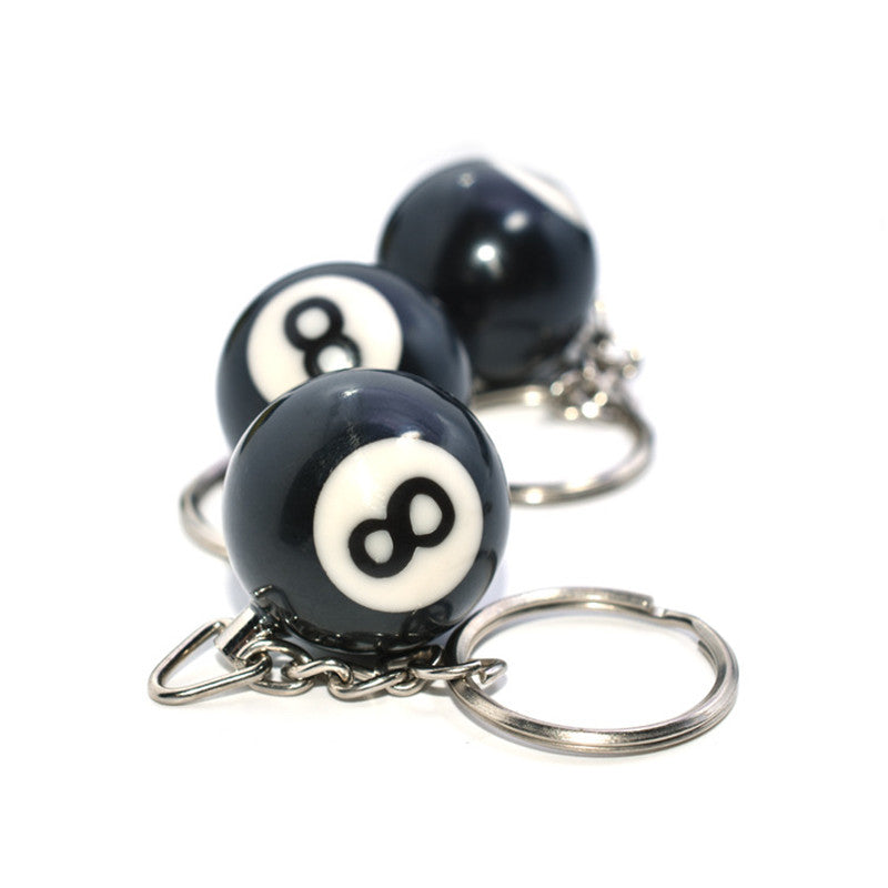 Lucky NO.8 Keychain 2 Pcs