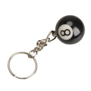 Lucky NO.8 Keychain 2Pcs