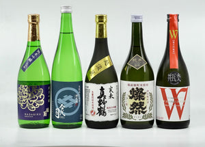 Sake On-nomi #10 - Sake Rice Selection