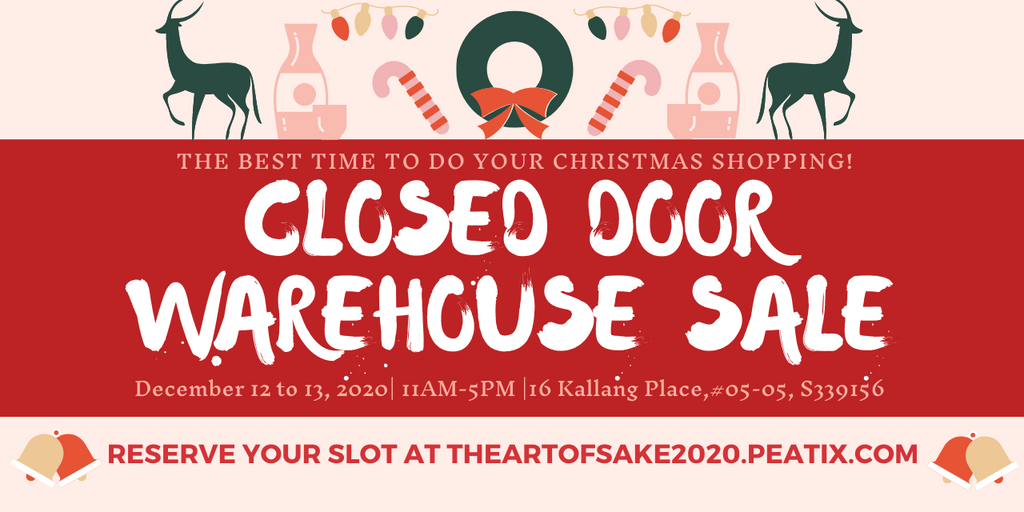 [SOLD OUT] Closed Door Warehouse Sale 2020 + Fundraiser Event