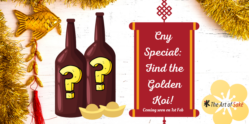 CNY Special: Find The Golden Koi! Event
