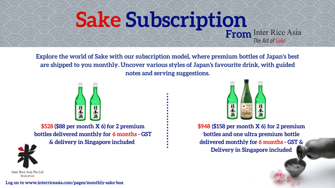 Your Online Premium Sake Store – Inter Rice Asia