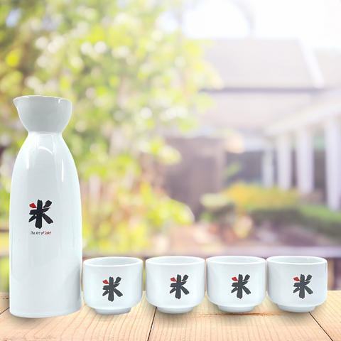 Sake Flask Set